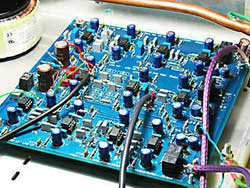 Main dipole filter board