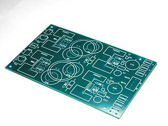 Printed Circuit Board with legends