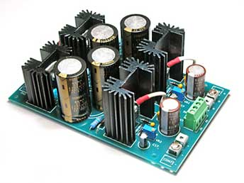 Completed Power Supply Board