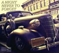 CD cover with image of old car. A Night Never to Forget sts6111155