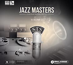 CD Cover, microphone and tape deck, Jazz Masters Vol 2 CD STS6111157