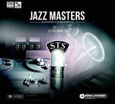 CD cover studio equipment, Jazz Masters Volume 4 sts6111166