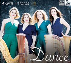 Audiophile CD, Dance 4 Girls and 4 Harps STS6111172