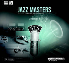 Green coloured cd cover titled Jazz Masters Volume 3 sts611131